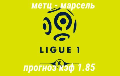 Прогноз матча: Метц – Марсель 14 декабря 2019 года