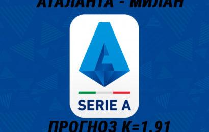 Аталанта – Милан ставки на матч